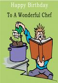 Chef - Greeting Card